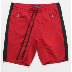 PacSun Drop Skinny Side Stripe Drawstring Shorts